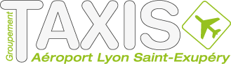 Logo GIE Taxis a�roport Lyon Saint-Exupery